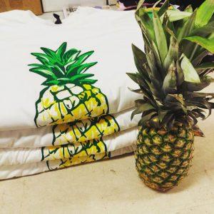 Pineapple shirt design
