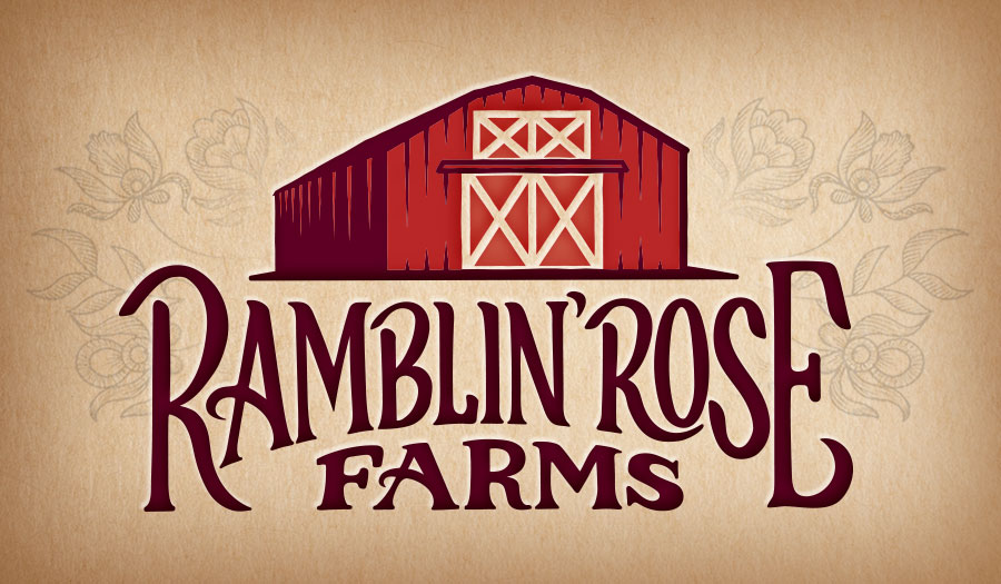 Ramblin Rose Farms Logo