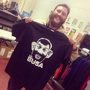 The BUSA t-shirt